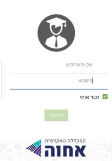 מסך הזנת הסיסמה (תמונה)