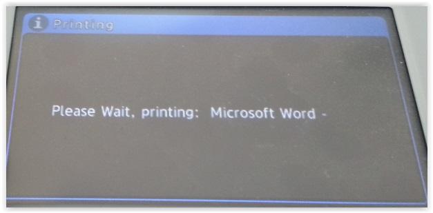 הדפסת המסמך (תמונה)